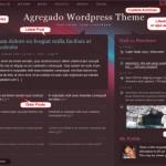 New WordPress Theme Agregado Designed for Lifestreaming
