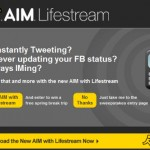 AIM Wants You to Lifestream and Offers a Sweepstakes Promotion