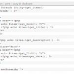 Tutorial for Building a  Custom Lifestream Using SimplePie
