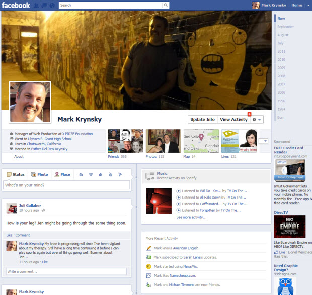 Facebook Ushers in Lifestreaming for the Masses
