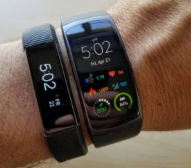 Fitbit Alta HR and Samsung Gear Fit2