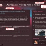 New WordPress Theme Agregado Designed for Lifestreaming