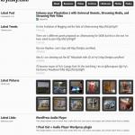 Lifestream WordPress Theme Released by Press 75