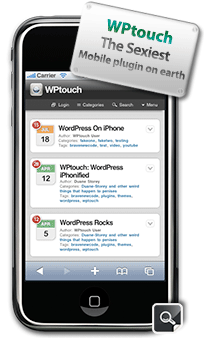 Lifestream Blog Now Optimized for Mobile Devices Courtesy of WP Touch Plugin for WordPress