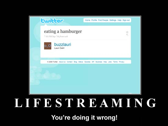Understanding the Value of Lifestreaming