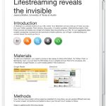 Lifestreaming Posters Created for College Course