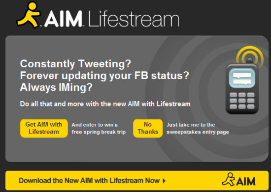 aim_lifestream_sweepstakes