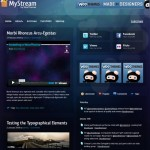 Woo Themes Releases MyStream WordPress Theme