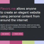 Flavors.me Launches and Introduces Premium Features