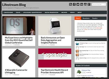Lifestream Blog Gets a New Site Design