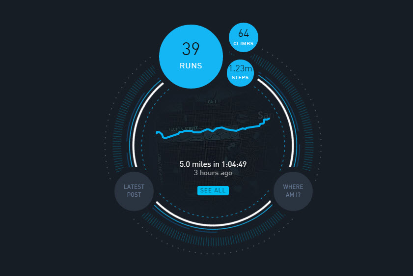 Beautiful Visualizations of Lifelogging and Quantified Self Data