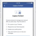 Facebook Now Allows Designation of Account Management After We Die