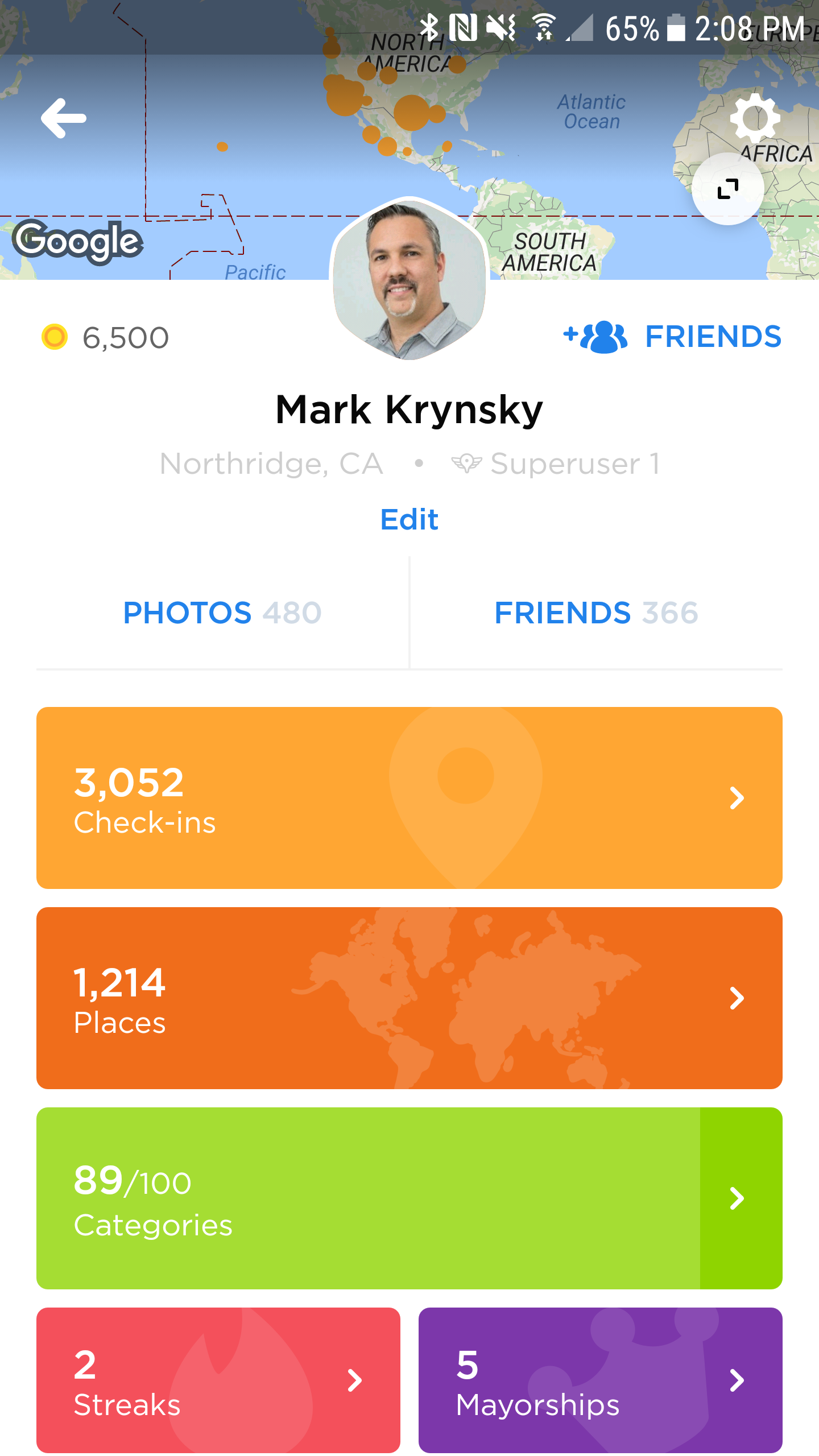 Foursquare Focuses on Lifelogging in Swarm 5.0