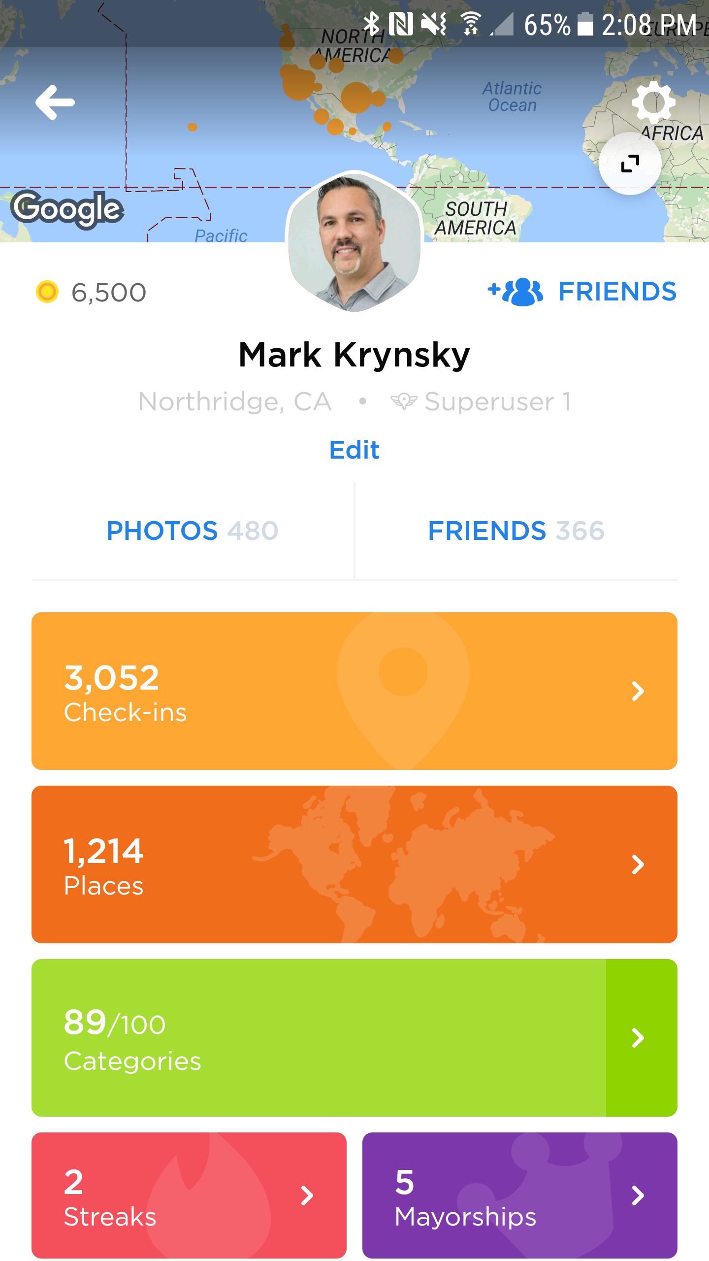 Foursquare Focuses on Lifelogging in Swarm 5.0